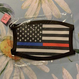 Police and Firefighter Flag Mask